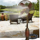 Outdoor Fan Misting System