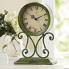 Gaston Antiqued Scrollwork Clock