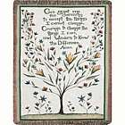 Serenity Prayer Blanket Tapestry Throw