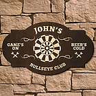 Bullseye Custom Bar Sign