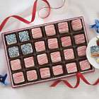 American Flag Petits Fours