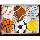 Play Ball Sugar Cookie Gift Tin