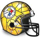 The Pittsburgh SteelersTiffany-Style Accent Lamp