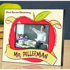 Personalized Teacher Apple Picture Frame
