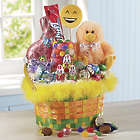 Fuzzy Chick Easter Basket