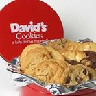 2 Pounds of David's Assorted Fresh Baked Cookies in Tin