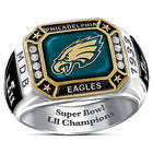 Men's Philadelphia Eagles Super Bowl LII Ring