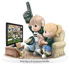 Precious Moments Every Day is a Touchdown with You Jets Figurine