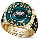 Men's Personalized Philadelphia Eagles Super Bowl LII Ring