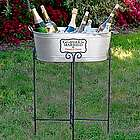 'Personalized Eat Drink and Be Married Beverage Tub' from the web at 'https://img1.findgift.com/Graphics/Gifts/140/440/PR_409440.jpg'