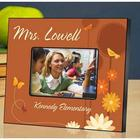 Personalized Butterfly Teacher Picture Frame
