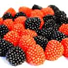 Gummy Raspberries and Blackberries Candy - 1 Pound