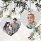 Precious Photo Personalized Large Heart Ornament