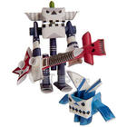 Piperoid Paper Pipe Robot Action Figure