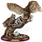 Woodland Guardian Owl Sculpture