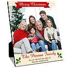 Merry Christmas Family Photo Panel