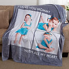 Picture Perfect Personalized Fleece Blanket