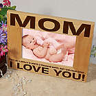 Three Little Words Mother's Day Wooden Picture Frame