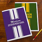 School Spirit Personalized Folders