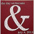 Personalized The Day We Became And Canvas Wall Art