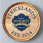 Personalized Vintage Label Barrel Sign