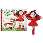 Ladybug Girl Book and Plush Toy Gift Set