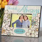 Personalized Everlasting Flower Friends Picture Frame