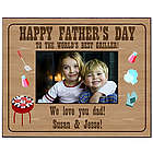 Griller Dad Father's Day Picture Frame