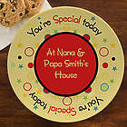 You're Special Today Personalized Birthday Plate