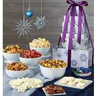 Snowflake Six Tier Treat Tower