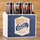 Beer's To You Personalized Father's Day Beer Bottle Carrier