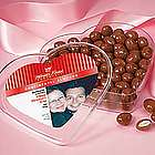 Chocolate Almonds Heart Box