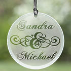 Personalized Circle of Love Suncatcher
