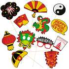 Chinese New Year Photo Stick Props