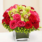 Simple Sophistication Rose and Orchid Bouquet