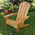 Kid's Personalized Adirondack Chair in Honey