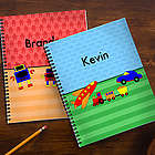 Just for Him Personalized Large Notebooks