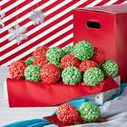 Simply Red Holiday Popcorn Ball Gift Box