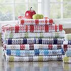 12 Piece Assorted Waffle Weave Towel Set
