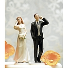 Cell Phone Fanatic Bride Figurine