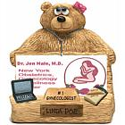 Personalized Business Card Holder for Ob/Gyn