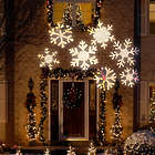 Snowflake Outdoor Christmas Lightshow Projector