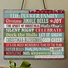 Personalized Christmas Blessings Slate Plaque