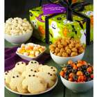 Happy Halloween Snacks and Sweets Sampler in Gift Tins