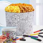 Creative Color 2 Gallon Popcorn Gift Tin