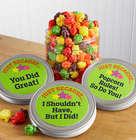 Personalized Celebration Cornfetti Kettle Corn Mini Gift Canister