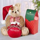 Bearington Jolly Jingles Teddy Bear and Chocolate Gift Set