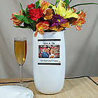 Personalized You and Me Photo Vase