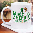 Made with Irish Parts Coffee Mug