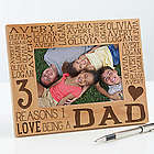 Reasons Why For Him Personalized Picture Frame